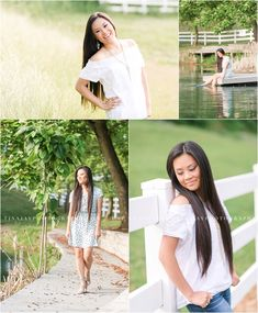 A beautiful senior portrait session on a private residence featuring a lake and gorgeous fields. Photographed by Red Land High School senior photographer, Tina Jay Photography.
