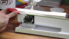 Don't trust anyone else on how to oil your Bernina This will solve SOOO many problems you may be having. If you are breaking thread, looping, br. Bernina 880, Machine Embroidery, Sewing Machines, Stitch, Tips, Full Stop, Sew, Sewing Sleeves, Stitches