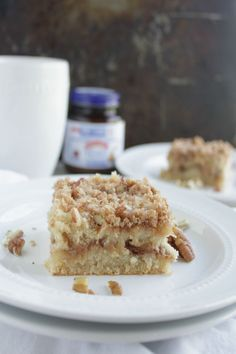 Gluten free coffee cake. Gluten Free doesn't mean losing the taste of delicious baked goods. This GF Coffee Cake is moist and full of flavor. You won't know it's gluten free.