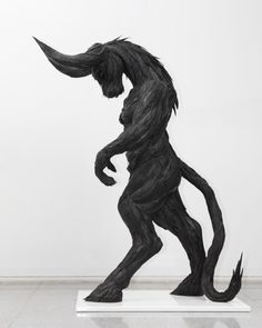 Bull Man 4, 2010 (Used tire, synthetic resins, steel) - Yong Ho Ji