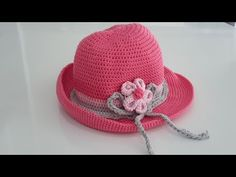 How to Knit - Suits for Girls (Making of Hat) Baby Knitting Patterns, Crochet Patterns, Sombrero A Crochet, Crochet Videos, Crochet Designs, Crochet Yarn, Baby Hats, Knitted Hats, Youtube