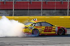 Joey Logano Races into Eliminator Round With Charlotte Win, leading 227 of the 334 laps en route to his fourth NASCAR Sprint Cup Series victory of the season