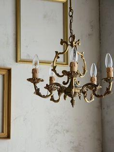 antique interior lighting lamp chandelier french home decor france アンティーク フランス インテリア シャンデリア クリスタル フレンチアンティーク