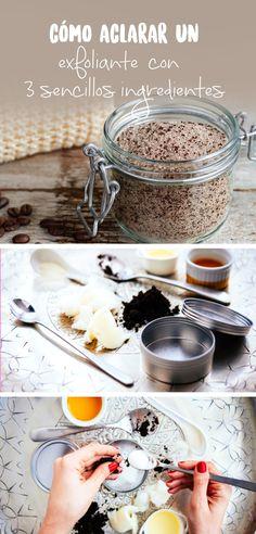 El aceite de coco es un hidrante natural que al combinarlo con el azúcar y el café dejaran tu piel radiante y lo mejor libre de celulitis gracias a la cafeína.
