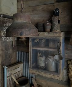 Primitive pie safe cupboard. Great old wood. Primitive country decorating fun! Come see us at Sweet Liberty Homestead!