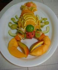 Lobster Fruit Plate