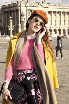 My Fashion Week style at Place de la Concorde