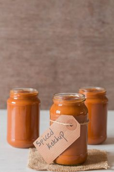 A simple one pot Spiced Tomato Ketchup – that will leave you not wanting any store bought ketchup ever. Come check it out for yuorself.