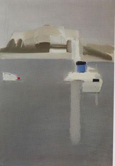 Nicolas de Staël, Le Fort d'Antibes, 1955