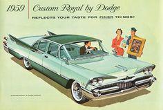 1959 Dodge Custom Royal 4-Door Sedan (Canada) | Flickr - Photo ...