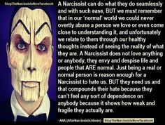 Like my page on Facebook! seeingthroughtheillusion the more we share and understand, the less power the Narcissists have over us!