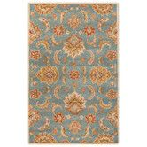 Found it at Wayfair - Mythos Hand-Tufted Blue/Yellow Area Rug