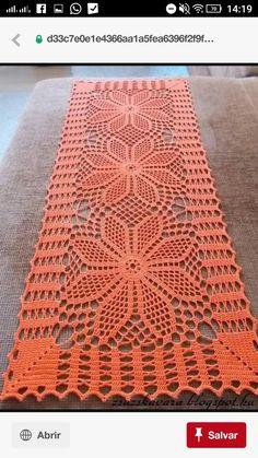 Ideas for crochet patrones tapetes Filet Crochet, Crochet Doily Diagram, Crochet Doily Patterns, Crochet Squares, Thread Crochet, Crochet Designs, Crochet Stitches, Crochet Granny, Knit Crochet