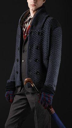 Burberry + Sweater Coat