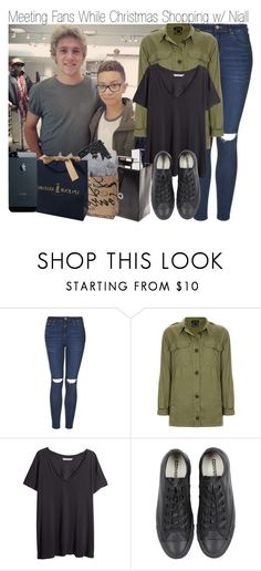 """Christmas Shopping with Niall"" by elise-22 ❤ liked on Polyvore featuring Topshop, H&M, Converse and Chanel"