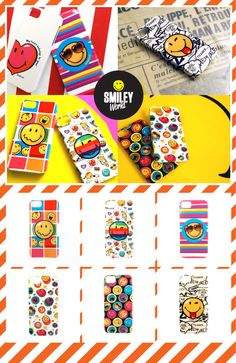 An other entry on Smiley Products Family!!! Phone accessory producer Philko & Smiley created a colourful and cheerful collection specially designed for IPhone 5. 7 different designs drawing from a variation of emotions in bright and exciting colours to brighten up your Iphone with a dose of happiness. You can shop Smiley Cover case from Philko website: http://www.philko.net/shop/list.php?ca_id=2030