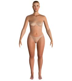 Your virtual body... Enter your measurements and find out what is the best way to dress for your body type...