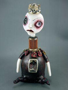 Queen Of The Broken Hearts Art Doll   The Queen of Broken He…   Flickr