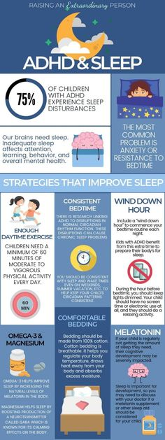 of Children with ADHD experience sleep problems. These 6 actionable tips will help your child with ADHD sleep better which is crucial for development. Adhd Odd, Adhd And Autism, Autism Learning, Aspergers Autism, Adhd Facts, Adhd Diagnosis, Adhd Help, Adhd Diet, Mental Health
