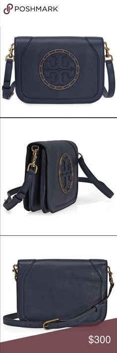 9857be22613a NWT Tory Burch Navy Stud Cross Body Brand new with tags Tory Burch Stud  Crossbody in Navy Blue. Comes with a dustbag.