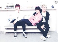 Jin, Jungkook, and Rap Monster- BTS ARMY 2