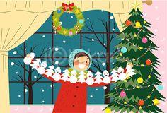#christmas #x_mas #tree #snow #winter #illustraiton #image #iclickart  #크리스마스 #겨울 #일러스트 #이미지 #아이클릭아트