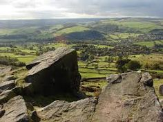 Curbar Edge - our hiking route for Christmas Day afternoon.  Warm clothes, flask of soup and off we go!  Fresh air, peace and each other.  What more could you ask for?