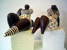 beelden in keramiek en andere materialen Maijke Kneepkens