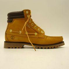 78070384e26 Timberland Mens US 10 EU 44 7 Eye Moc Toe WP Wheat Nubuck Leather Hiking  Boots