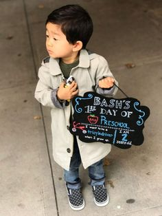 Bash's First Day of School