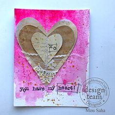 A Valentine Tutorial with Gelatos® Color Bubble Gum