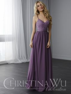 115f596ead4 Simple Spaghetti Straps A-Line Purple Chiffon Long Prom Dress Prom Dress