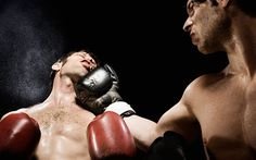 Evidence suggests that men's jaws have evolved to minimise damage from bruising altercations after our ancient ancestors learned how to throw a punch
