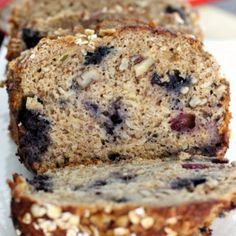 Blueberry Banana Oatmeal Bread Recipe