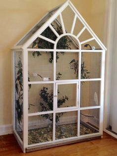 Aviary bird cage built by me