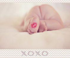 Amo pezinho de bebê!