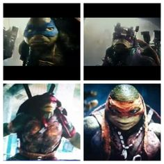 Raph, Mikey, Don, and Leo!!