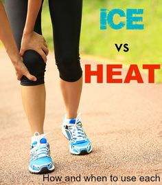 Should you use ice or heat on your running injury? Learn which is best to recover after exercise. Running Injuries, Running Workouts, Running Tips, Workout Tips, Ice Vs Heat, Sports Massage Therapist, Runners Knee, It Band, Ab Challenge