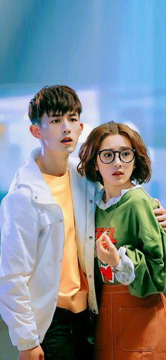 Stiu Feng and Chen Qingqing Korean Drama Romance, Korean Drama List, Kdrama, Asian Actors, Korean Actors, Jun Chen, Accidental Love, Good Morning Call, Netflix Dramas