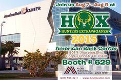 Hunters Extravaganza Corpus Christi: Aug 7 – Aug 9