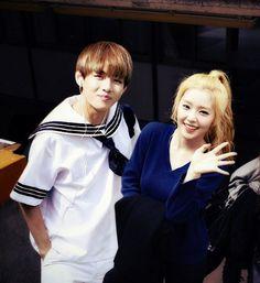 Irene (Red Velvet) i V (BTS) photoshop
