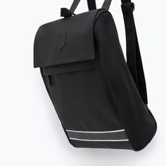 Image 6 of BLACK BACKPACK from Zara
