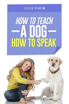How to teach a dog how to speak >> http://doggiedesires.com/how-to-teach-a-dog-how-to-speak/