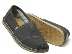 women toms shoes Got these for the Husband! Take a look at this Charcoal Canvas Stitchouts - Men by TOMS Women & Men on today! toms shoes,one for one Cheap Toms Shoes, Toms Shoes Wedges, Toms Shoes Outlet, Grey Shoes, On Shoes, Shoes Sneakers, White Sneakers, Adidas Sneakers, Gray Toms