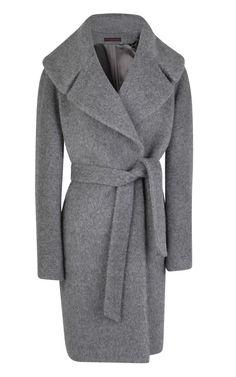 Large Collar Belted Coat by Martin Grant - Moda Operandi
