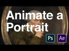 Animate a Portrait with After Effects and Photoshop Photoshop Youtube, Lightroom Tutorial, Free Photoshop, Vfx Tutorial, Animation Tutorial, Adobe After Effects Tutorials, Illustrator Tutorials, Drawing Tutorials, After Effect Tutorial