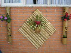 artesanato para jardim com bambu - Pesquisa Google