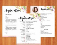 Social Resumes and Sorority Recruitment Packets by ReadyforRecruitment Sorority Resume, Sorority Recruitment, Above And Beyond, Note Cards, Index Cards, Greeting & Note Cards, Sorority Rush