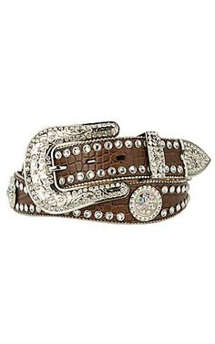 Blazin Roxx® Ladies Rhinestone Western Belt N3512002 | Cavender's.... I WANT IT!!!!
