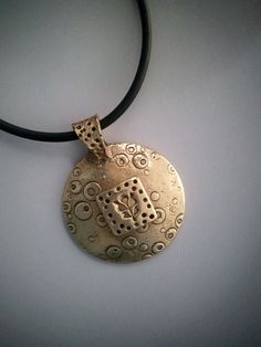 Bronze Layered Pendant £34.00